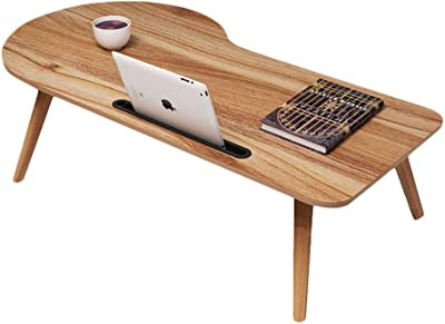 LF- Small Coffee Table Wood-Based pane Furniture Decorated Living Room Balcony Home and Office Table Chic (Color : Oak Color, Size : L100CM)