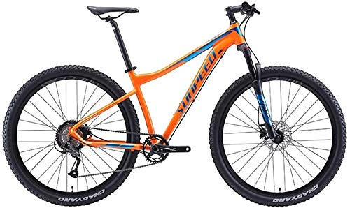 Suge 9 velocità Mountain Bike, for Adulti Big Wheels Hardtail for Mountain Bike, Uomini Donne Città Commuter for Biciclette, Perfetto for Strada o sporcizia Trail Touring