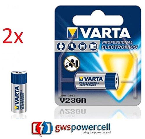 GWS-POWERCELL® VARTA PROFESSIONAL ELECTRONICS V23GA jeweils im Einzelblister verpackt / NEU & OVP (V23GA, 2 Stück)