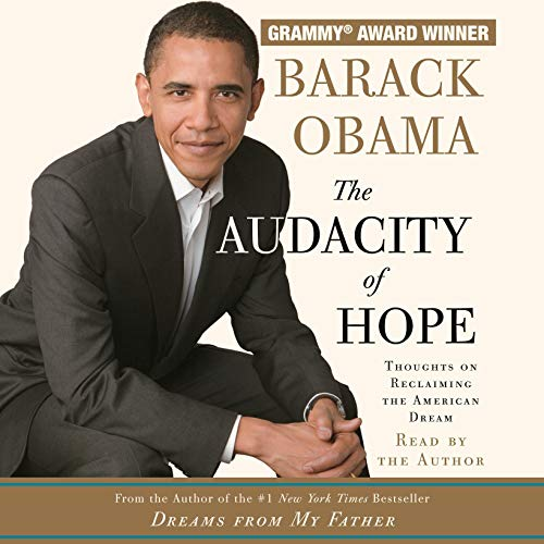 The Audacity of Hope book cover