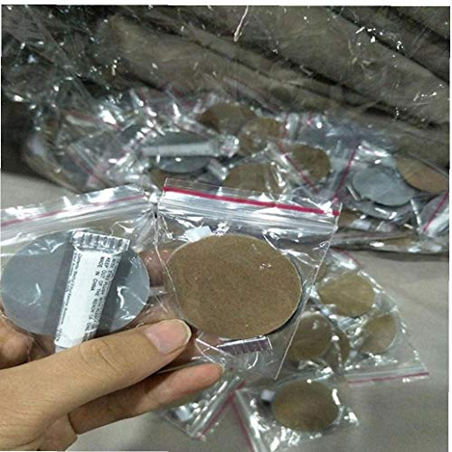 BYFRI 2 Sets Matratze Schwimmbad PVC Sofa Reparatur Raft Boot Reparatursatz Inflating Air Bed Kayak Patches Kleber Profi Zufalls