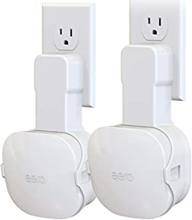 [Upgraded] Wall Mount Holder for eero mesh WiFi System, NOT Fit for eero 6 / Pro 6 / Beacon/Pro, No Messy Wires   Space Sa...