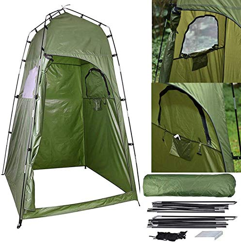 DHRH Portable Privacy Shower Tent,Camping Toilet Tent,Outdoor Changing Tent Fitting Room for Camping Hiking Beach