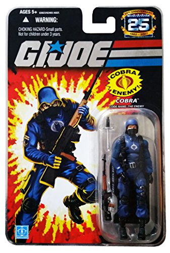 G.I. Joe 25th Anniversary: Cobra Trooper (The Enemy) 3-3/4 Inch Action Figure