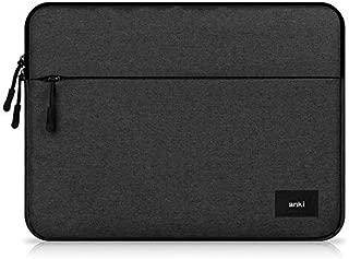 "11 inch Canvas Laptop Sleeve Case for 11.6"" Lenovo IdeaPad 130s, 120s | Flex 11 | Lenovo 300e 500e Chromebook, 11.6""Asus VivoBook| Asus Chromebook C202SA | C223NA, XIDU PhilBook (Black)"