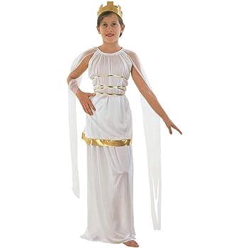 Athena - Disfraz de griego para niña, talla 7-8 años (CC346 ...