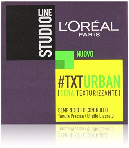L Oréal Paris Studio Line Txt Urban Cera Effetto Naturale, 75 ml
