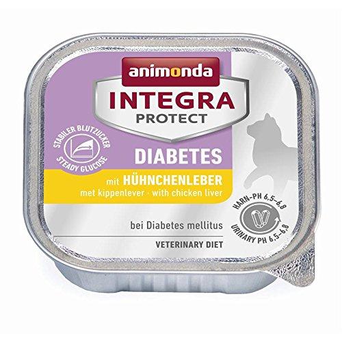 Animonda Integra Protect Diabetes mit Hühnchenleber | 16x 100g