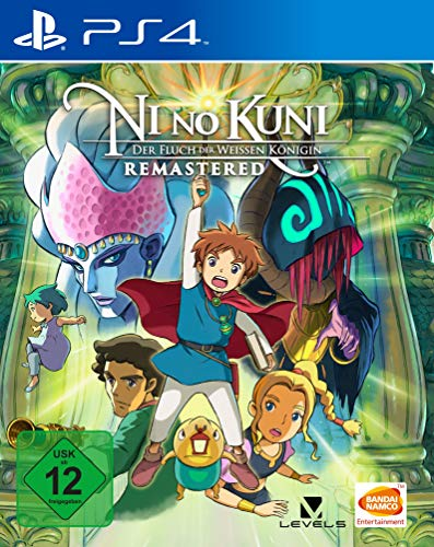 Ni no Kuni: Der Fluch der Weißen Königin Remastered - [PlayStation 4]