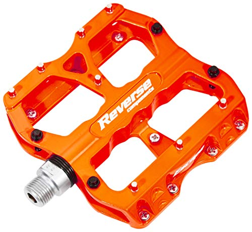 Reverse Escape Flat Fahrrad Pedal neon orange