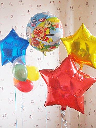 アンパンマン パーティバルーン ファーストバースデイ バースデイバルーン お誕生日はみんな大好きアンパンマンバルーンでお家や会場を素敵に飾ろう★