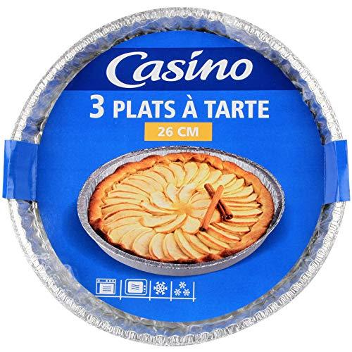 Casino - Pirofila per torta, in alluminio, set di 3
