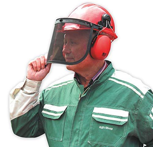 Westfalia Schutzhelm mit Gesichts- und Gehörschutz