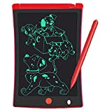 LCD Writing Tablet 8.5 Inch Drawing Board, STTARLUK Drawing Pad Doodle Board for Kids & Adults with Lock Function,Used as Magnetic Message Board on Fridge Write Tablet (Red)