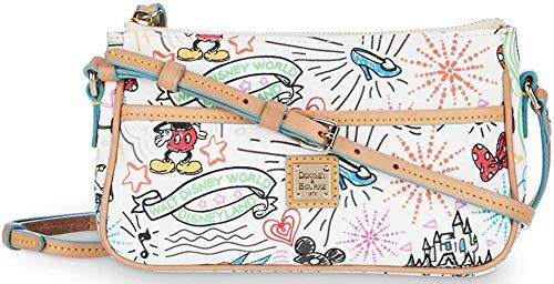 Disney Parks Dooney & Bourke Disney Sketch Pouchette Crossbody -  DisneyThemeParks, 350253