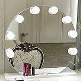 Lumière de Miroir, GreenClick 4 Ampoules Hollywood Kit de Lumière...