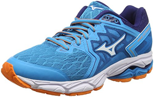 Mizuno Wave Ultima 10, Zapatillas de Running para Mujer, Rojo (Teaberry/White/Evening Blue 02), 38 EU