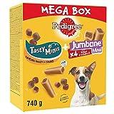 PEDIGREE Méga Box - Mix de Friandises pour chien avec Sa Récompense et Son Os à Mâcher, 740 g de friandises