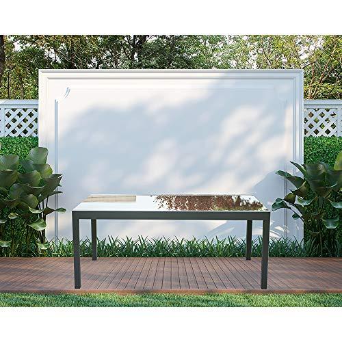 Home Deluxe - Gartentisch ausziehbar - Sol - ca. 180(240) x90x75 cm - inkl. Zubehör