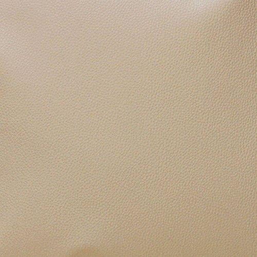 Morbidissimi Tessuto Ecopelle al Metro Cannes 550 gr/mq Finta Pelle h. 140 cm R027 Beige
