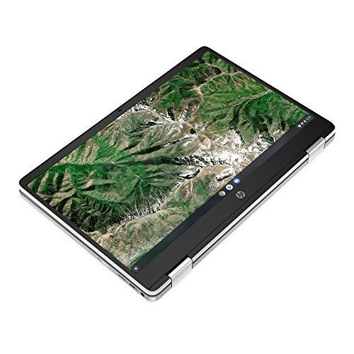 HP Chromebook x360 14a-ca0217ng (14 Zoll / HD Touch) 2in1 Convertible Laptop (Intel Celeron N4020, 4GB LPDDR4 RAM, 64GB eMMC, Intel UHD Grafik, Chrome OS, QWERTZ) weiß - 6
