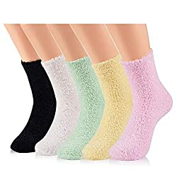 Comfy soft socks to slip onto feet after applying Vicks adds a bit of luxury to your pampering when sick.
