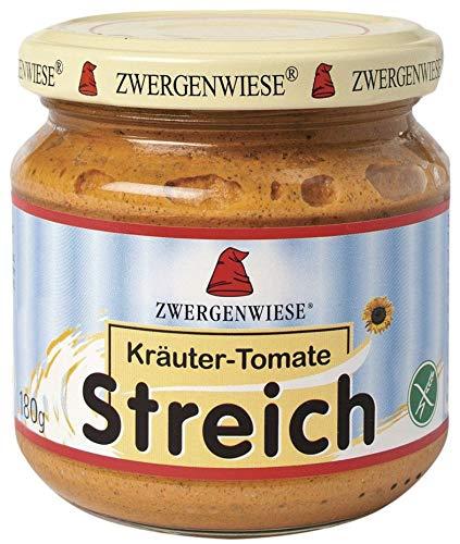 Zwergenwiese Bio Kräuter-Tomate Streich (6 x 180 gr)