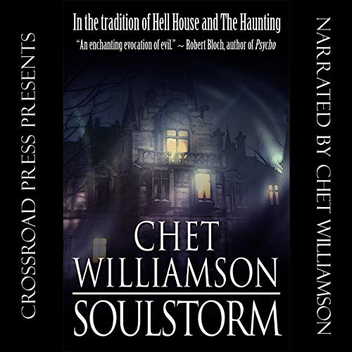 Soulstorm audiobook cover art