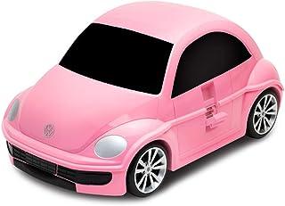 Ridaz Kids Travel Suitcase,Trolley - Volkswagen Beetle - Pink