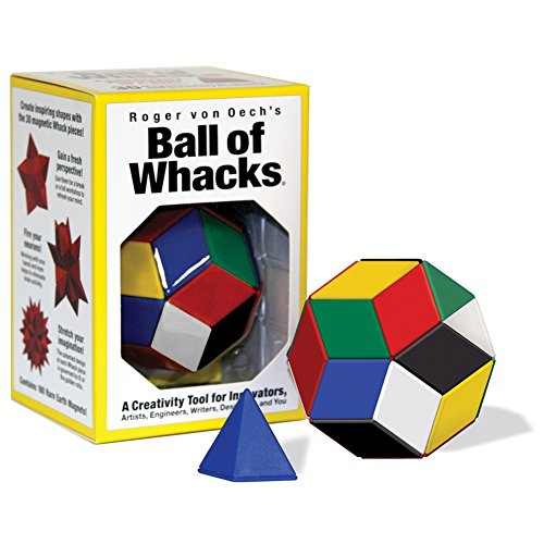 CREATIVE WHACK COMPANY Roger von Oech's Ball of Whacks: Six-Color Edition