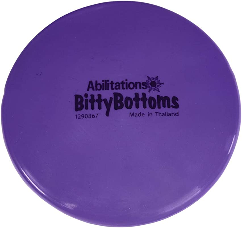 Abilitations Bitty Bottom Seat Cushion Bean Filled 8 Inches Purple