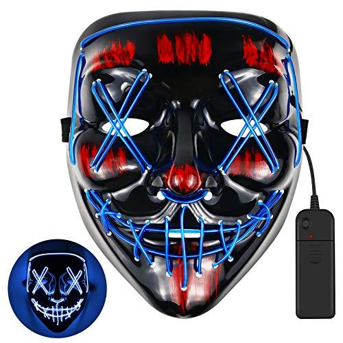 Cypin - Masken in Blau, Größe 21*18