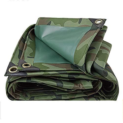 DGLIYJ Plane Schatten Tuch Plane Markise Groundsheet Camouflage Oxford Tuch Dickes wasserdichtes Tuch Outdoor-Schutzhülle Sonnenschirm Leinwand (Size : 4.5x8m)