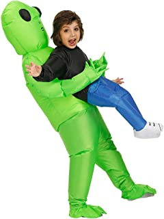 Inflatable Alien Unicorn Dinosaur Costume Inflatable Halloween Party Costumes Blow up Costumes Adult/Kids