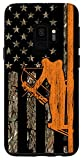 Galaxy S9 Bow Hunting Tree Stand Deer Hunter American Flag Camouflage Case
