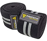 FIGHTECH Knee Wraps for Weightlifting | Men & Women | Bodybuilding Knee Squat Wraps | 82' Long Knee Straps for...