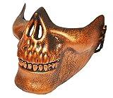 Máscara de Bronce de Medio Cráneo