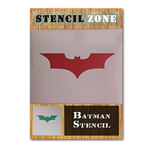 Batman para volar alas de murciélago héroe Mylar aerógrafo Pintura Crafts arte de la pared de la plantilla 1 (A2 Tamaño de la plantilla - Large)