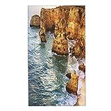 COFEIYISI Juegos de Toallas Piedra de Oro del Algarve Toallas de Mano multipropósito para baño,Manos,Cara,Gimnasio y SPA Absorbente Suave 40x70cm