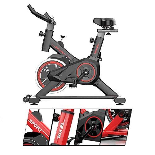WJFXJQ Bicicleta de Ciclismo en Bicicleta en Bicicleta en Bicicleta, Manillar Ajustable y cojín cómodo de Asiento, con Monitor LCD para el hogar, Bicicleta de Entrenamiento de Cardio de Gimnasio