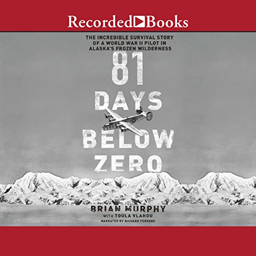 81 Days Below Zero audiobook cover art