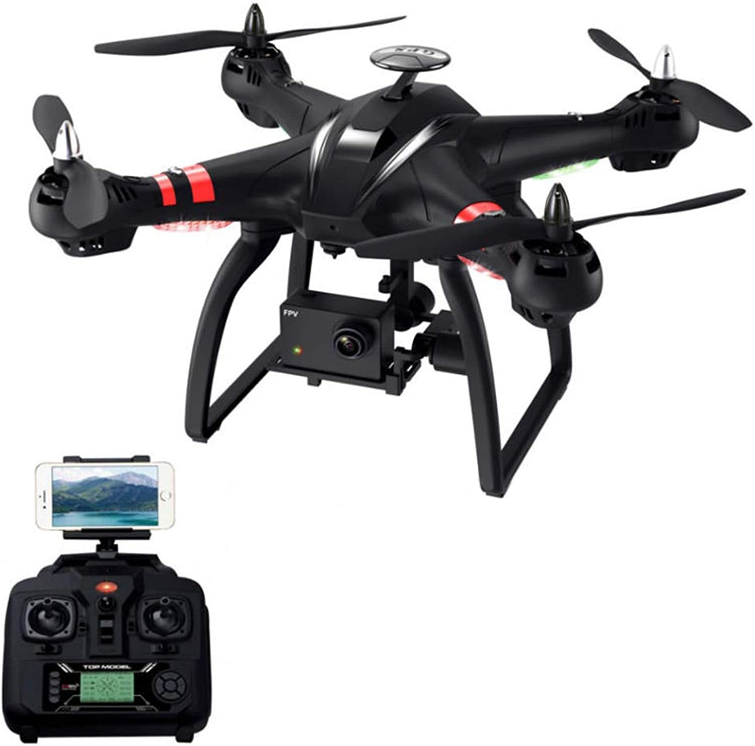 WANGKM Remote Drone 1080p One Button Takeoff And Landing Wifi Camera 360 ° Tumbling Pressure Fixed High Headless Mode Six Axis Gyro Long Flight Time