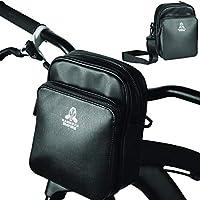 Mammoth Empire Bike Handlebar Bag - Bike Bag Handlebar Bike Storage Bag Bicycle Bag Bicycle Handlebar Bag Bike Pouch Bag...