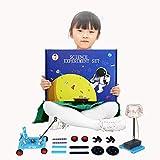 TRAACEM Wissenschaftliche Experimente Für Kinder 6-10, DIY STEM Toys Für Kinder, Luftfederung, Akustisches Photoelektron-Experiment Für Jungen Und Mädchen