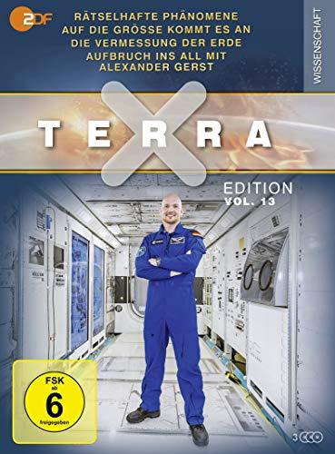Terra X - Edition, Vol.13: Rätselhafte Phänomene / Auf die Größe kommt... / Vermessung der Erde / Aufbruch ins All (3 DVDs)