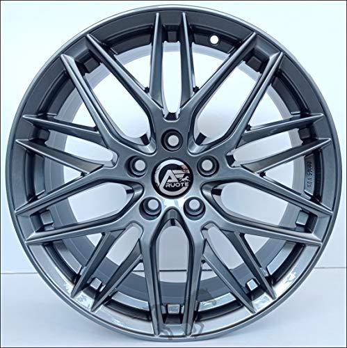 1 AF19 Llantas de Aleación NAD 7.5 17 5X112 45 66,5 Compatible Con BMW Serie 2 X1 X2 De 2017 Hecho en Italia