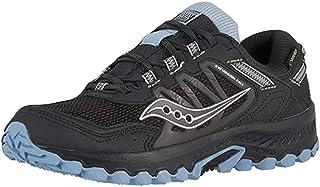 حذاء حريمي للجري على طريق الطريق Versafoam Excursion Tr13، أسود/أزرق فاتح، 11 M US