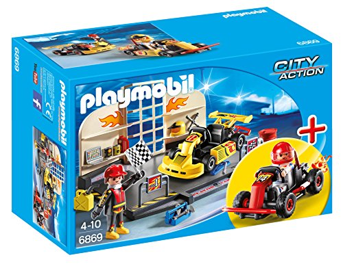 Playmobil StarterSet - City Action Taller Karts Playsets de