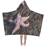 Gran variedad estrellas mar Cálido suave niños disfraces con capucha ropa cama toallas baño abrigo tiro para niños pequeños niña niño niño tamaño viaje a casa comida campestre regalo para dormir.