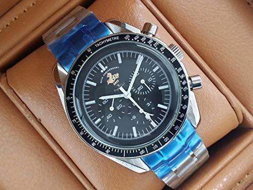 PLKNVT Luxusmarke Neue Männer Automatische Mechanische Uhren Speed Racing Luminous Ceramic Lünette Sapphire Sportuhr 50Th Limited Reduziert
